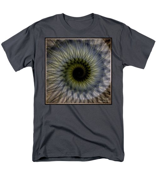 Another Spiral  Men's T-Shirt  (Regular Fit) by Elizabeth McTaggart