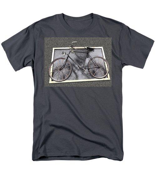 Antique Bicycle  Men's T-Shirt  (Regular Fit) by Joyce  Wasser