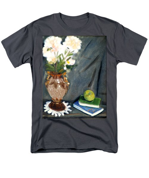 Antique Vase And Flower Men's T-Shirt  (Regular Fit) by Michael Daniels