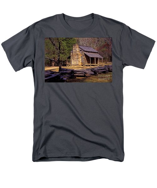 Appalachian Homestead Men's T-Shirt  (Regular Fit) by Paul W Faust -  Impressions of Light