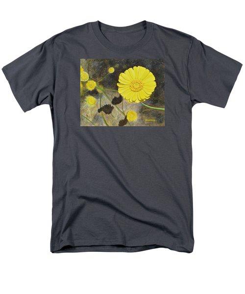 Arboretum Wild Flower  Men's T-Shirt  (Regular Fit) by Donna  Manaraze