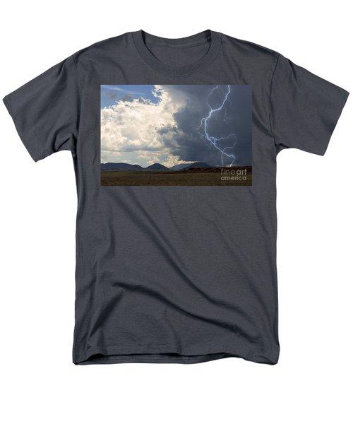Arizona Desert Lightning  Men's T-Shirt  (Regular Fit) by Janice Rae Pariza