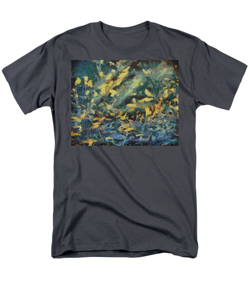 Men's T-Shirt  (Regular Fit) featuring the painting As The Wind Blows by Joe Misrasi