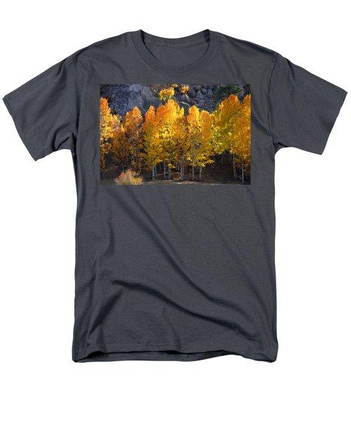 Men's T-Shirt  (Regular Fit) featuring the photograph Aspen Gold by Lynn Bauer
