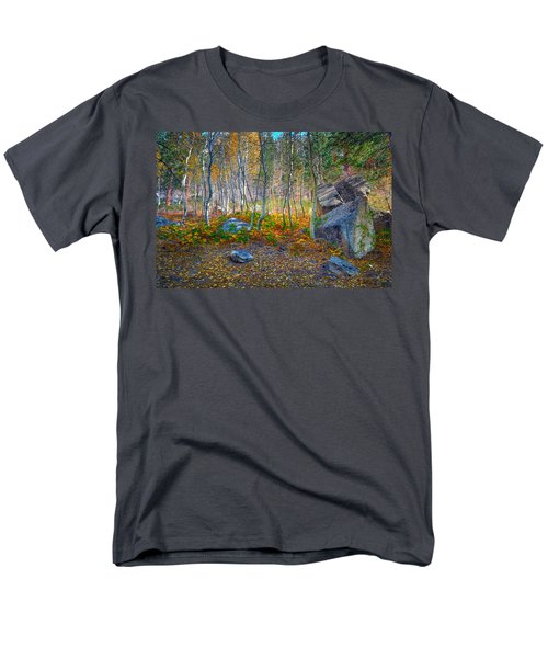 Men's T-Shirt  (Regular Fit) featuring the photograph Aspen Grove by Jim Thompson