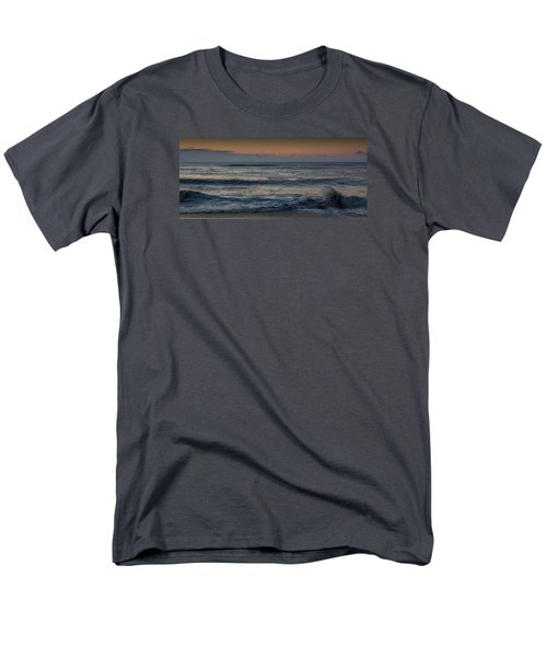 Assateague Waves Men's T-Shirt  (Regular Fit) by Photographic Arts And Design Studio