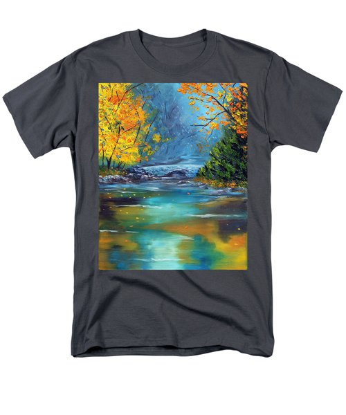 Men's T-Shirt  (Regular Fit) featuring the painting Assurance by Meaghan Troup