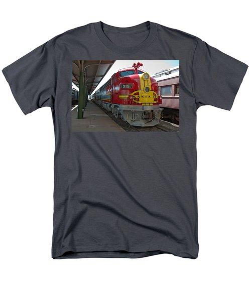 Atsf 315 Emd F7a Men's T-Shirt  (Regular Fit) by John Black