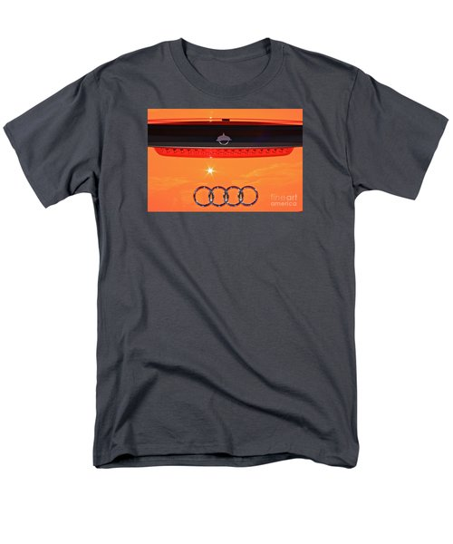 Men's T-Shirt  (Regular Fit) featuring the photograph Audi Orange by Linda Bianic