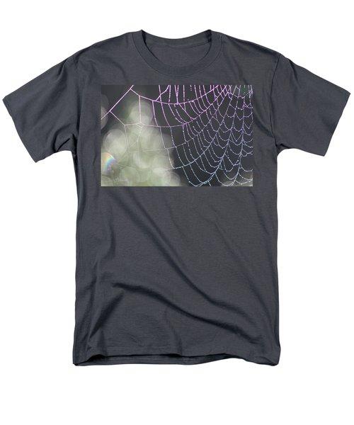 Men's T-Shirt  (Regular Fit) featuring the photograph Aurora's Web by Cathie Douglas