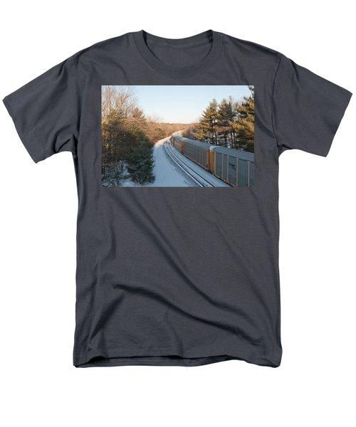 Auto-racks Spencer Massachusetts Men's T-Shirt  (Regular Fit) by John Black