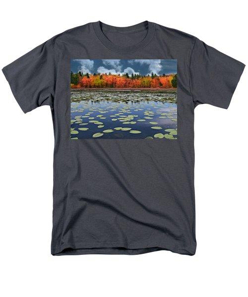 Autumn Across The Pond Men's T-Shirt  (Regular Fit)