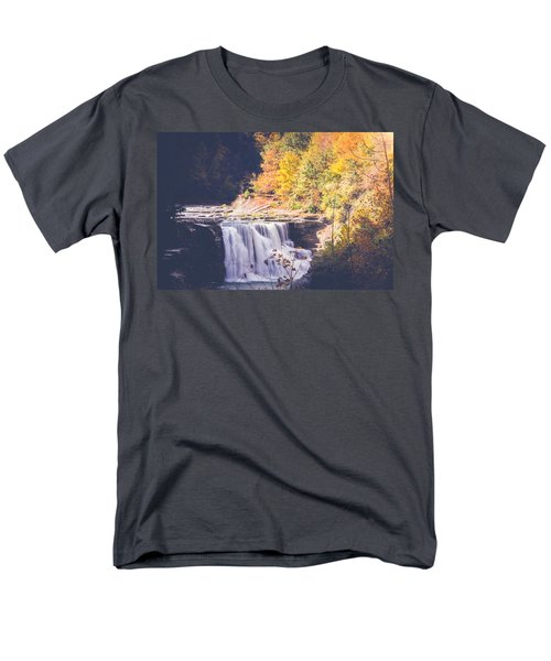 Autumn At Letchworth Men's T-Shirt  (Regular Fit)