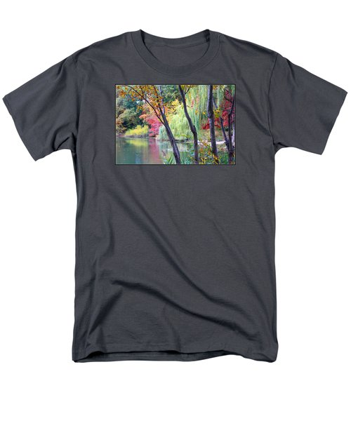 Autumn Fantasy Men's T-Shirt  (Regular Fit) by Dora Sofia Caputo Photographic Art and Design