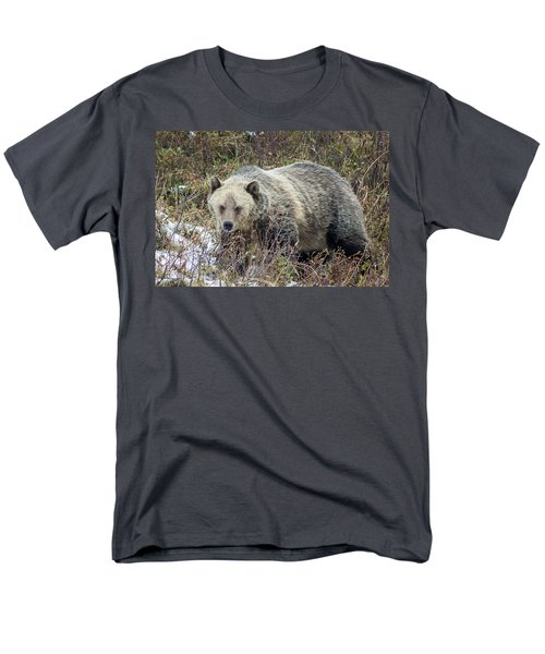 Men's T-Shirt  (Regular Fit) featuring the photograph Autumn Grizzly by Jack Bell