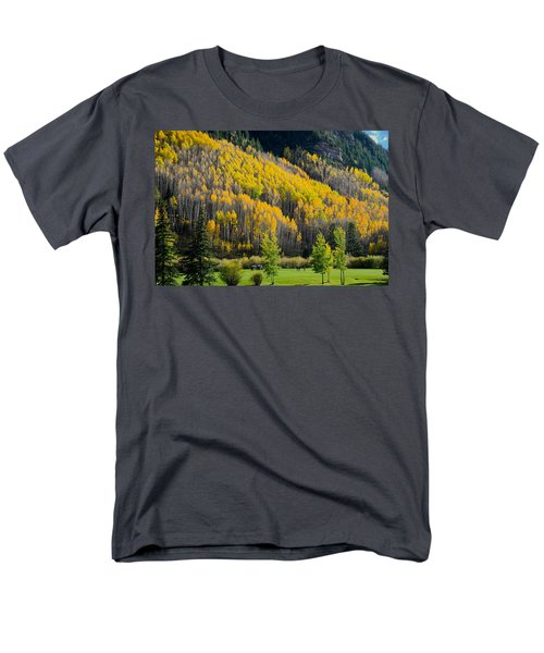 Autumn On The Links Men's T-Shirt  (Regular Fit) by John McArthur