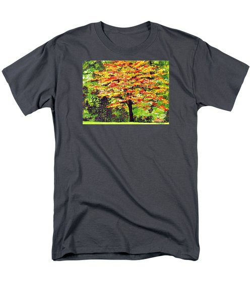 Autumn Splendor Men's T-Shirt  (Regular Fit) by Patricia Griffin Brett