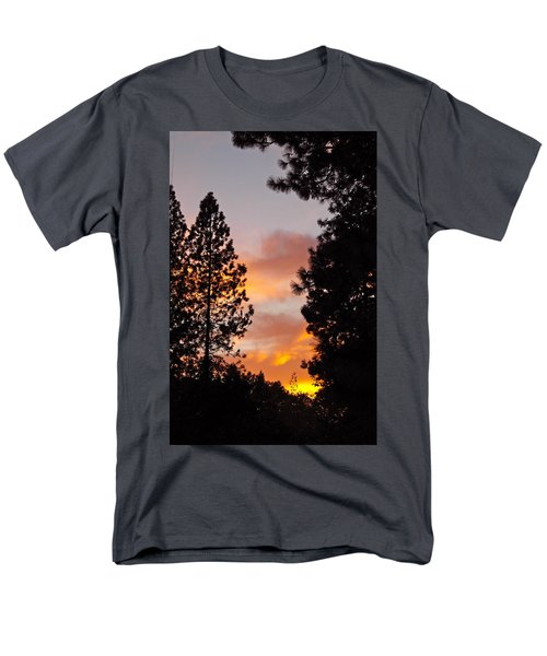 Autumn Sunset Men's T-Shirt  (Regular Fit) by Michele Myers
