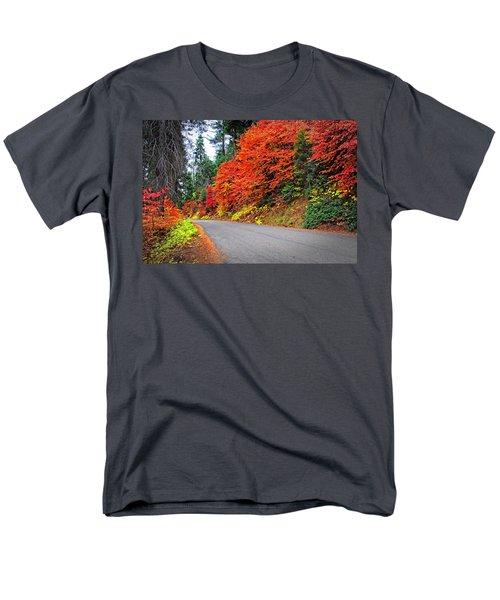 Men's T-Shirt  (Regular Fit) featuring the photograph Autumn's Glory by Lynn Bauer