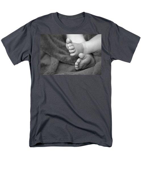 Baby Feet Men's T-Shirt  (Regular Fit) by Carolyn Marshall