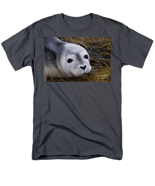 Baby Seal Men's T-Shirt  (Regular Fit) by DejaVu Designs