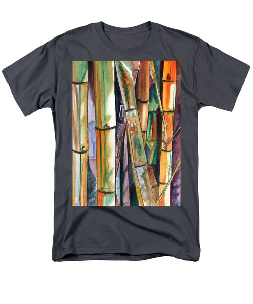 Bamboo Garden Men's T-Shirt  (Regular Fit) by Marionette Taboniar