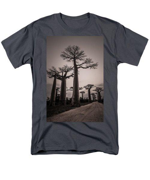 Baobab Avenue Men's T-Shirt  (Regular Fit) by Linda Villers