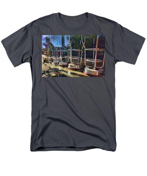 Bar Stools Up Men's T-Shirt  (Regular Fit) by Daniel Sheldon