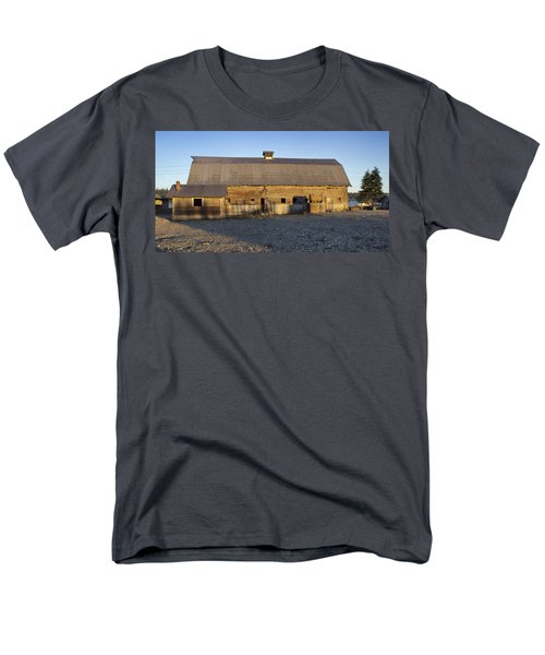 Barn In Rural Washington Men's T-Shirt  (Regular Fit) by Cathy Anderson