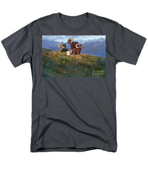 Men's T-Shirt  (Regular Fit) featuring the painting Bbbad Boy by Rob Corsetti