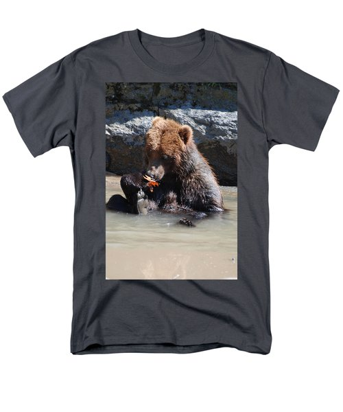 Bear Cub Men's T-Shirt  (Regular Fit) by DejaVu Designs