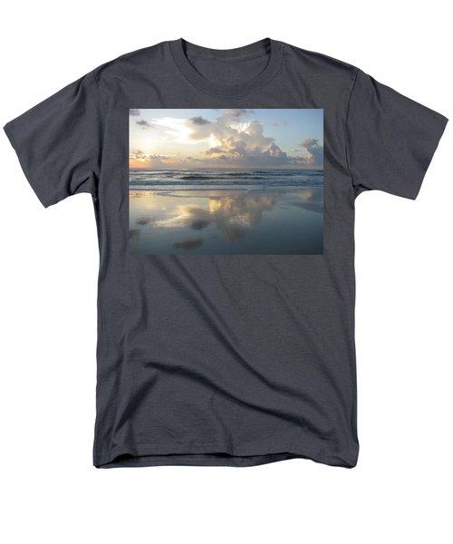 Beautiful Beach Sunrise Men's T-Shirt  (Regular Fit) by Ellen Meakin