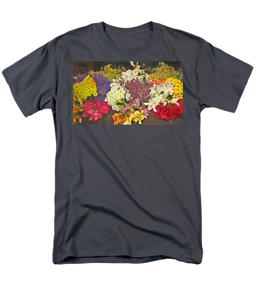 Beautiful Blooms Men's T-Shirt  (Regular Fit) by Judith Morris