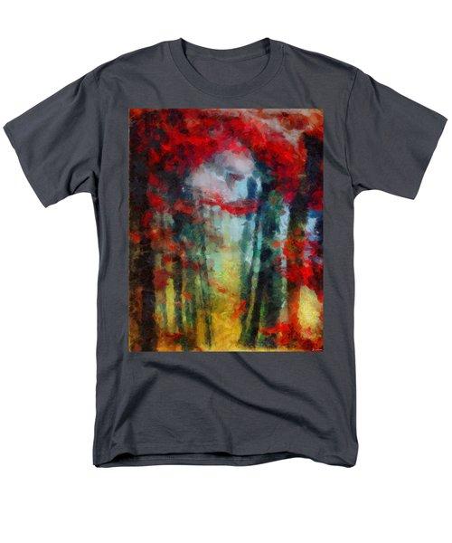 Men's T-Shirt  (Regular Fit) featuring the painting Beautiful Secrets by Joe Misrasi