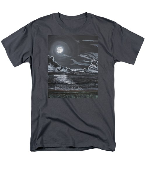 Men's T-Shirt  (Regular Fit) featuring the painting Beauty Of The Night by Ian Donley