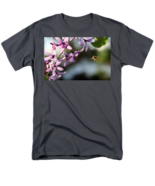 Men's T-Shirt  (Regular Fit) featuring the photograph Bee Back by Greg Allore