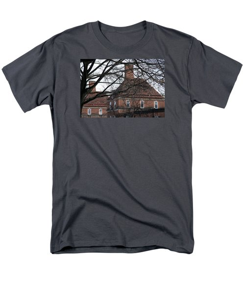 The British Ambassador's Residence Behind Trees Men's T-Shirt  (Regular Fit) by Cora Wandel