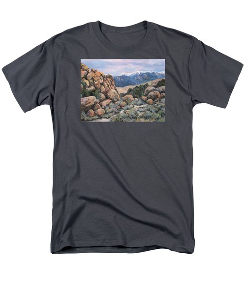 Men's T-Shirt  (Regular Fit) featuring the painting Benton by Donna Tucker