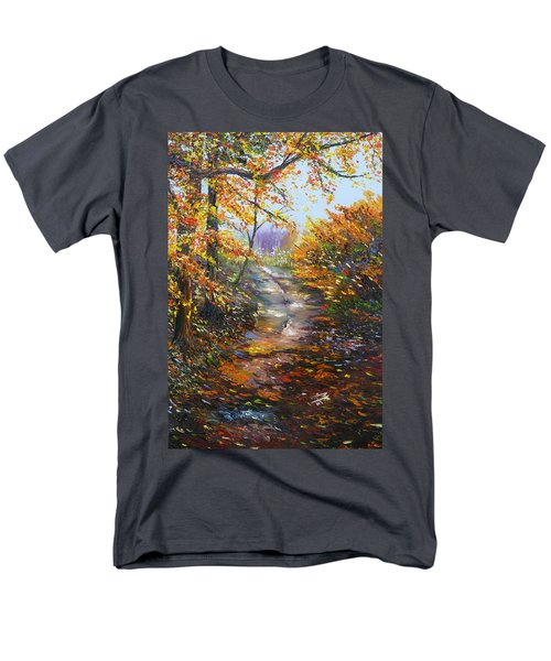 Men's T-Shirt  (Regular Fit) featuring the painting Beyond Measure by Meaghan Troup