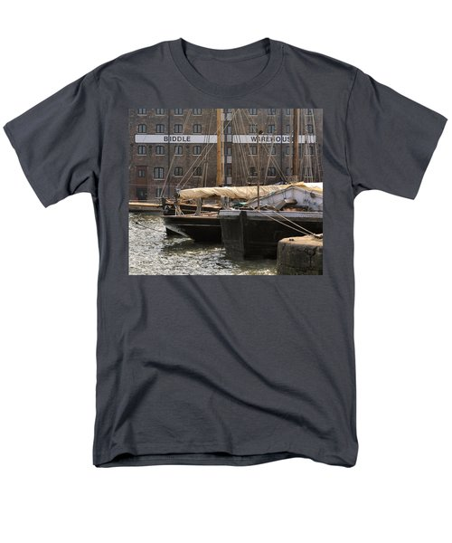 Biddle Warehouse Men's T-Shirt  (Regular Fit) by Ron Harpham