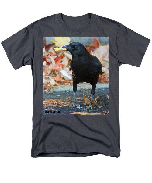 Big Daddy Crow Leaf Picker Men's T-Shirt  (Regular Fit) by Lesa Fine