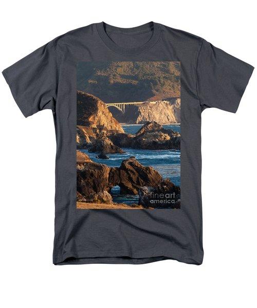 Big Sur Coastal Serenity Men's T-Shirt  (Regular Fit) by Mike Reid
