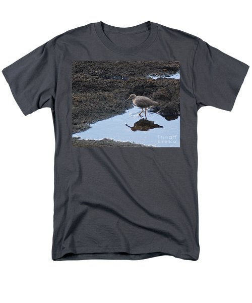Men's T-Shirt  (Regular Fit) featuring the photograph Bird's Reflection by Belinda Greb