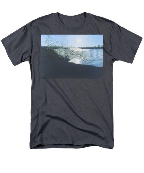 Black Swan Lake Men's T-Shirt  (Regular Fit) by Joanne Perkins