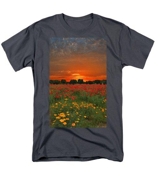 Blaze Of Glory Men's T-Shirt  (Regular Fit) by Lynn Bauer