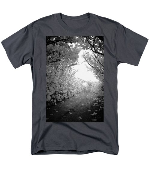 Men's T-Shirt  (Regular Fit) featuring the photograph Blowing Rocks Jupiter Florida by Bradley R Youngberg