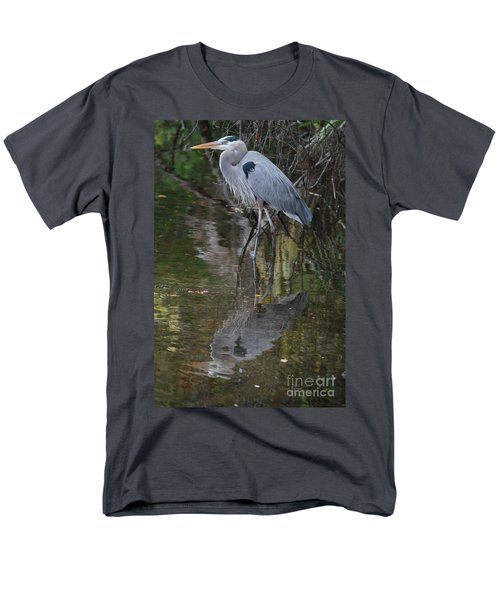 Blue 1212 Men's T-Shirt  (Regular Fit) by Deborah Benoit