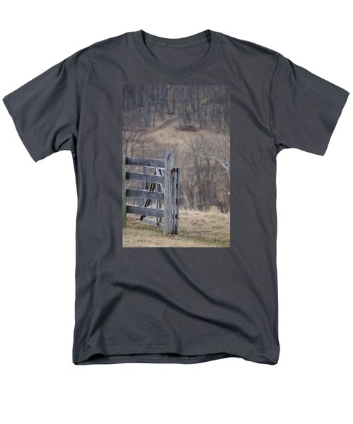 Blue Bird Men's T-Shirt  (Regular Fit) by Heidi Poulin