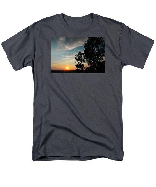 Blue Heaven Sunset Men's T-Shirt  (Regular Fit) by Julie Andel
