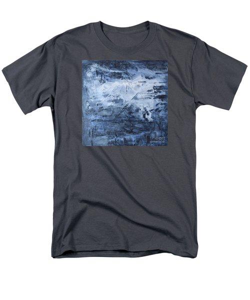 Blue Mountain Men's T-Shirt  (Regular Fit) by Susan  Dimitrakopoulos